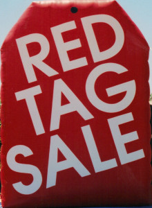 red tag shape 25 ft high cold-air inflatable.q